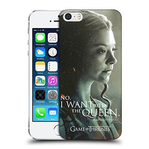 Head Case Designs Offizielle HBO Game of Thrones Margaery Tyrell Character Portraits Ruckseite Hülle für iPhone 5 iPhone 5s iPhone ()
