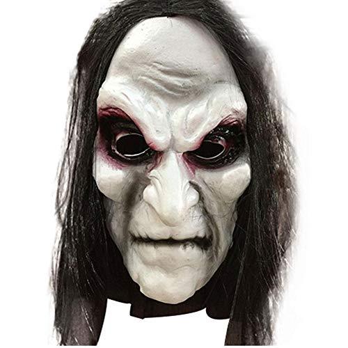 Halloween Maske Realistische Zombie Groll Geistermaske Latex Maske Maskerade Kostüm Karneval Maske Helm Requisiten Maske - Groll Kostüm