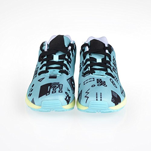 adidas ZX Flux, Sneakers da Uomo Turchese (turchese)