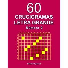 60 Crucigramas Letra Grande - N. 2