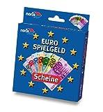 Noris Spiele 606521013 - Euro Spielgeld Scheine