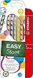 STABILO EASYcolors 6er Etui links - ergonomische Buntstifte