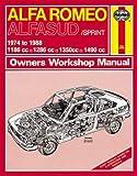 Alfa Romeo Alfasud/Sprint (1974 - 1988) Haynes Repair Manual (Service & repair manuals)