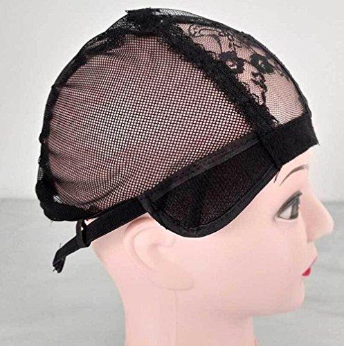 DU Einfache Spitze Perücke Kappe Zubehör Mesh-Kappe Haarnetz Großhandel Perücke Netto Kopf Kappe Spitze Haar Hut elastische Mesh-Kappe