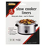 30 x 55cm Slow Cooker Liners PK 5 Hold Up to 6.5 Litre Safety Tested
