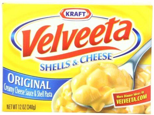 Kraft Velveeta Shells and Cheese, Original 12oz - (Pack of 3) by Velveeta