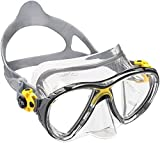 Cressi Big Eyes Evolution Crystal Scuba Diving and Snorkeling Mask - Yellow by Cressi