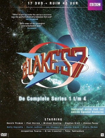 Blakes 7 (Complete Series 1-4) - 17-DVD Box Set ( Blakes Seven ) [ NON-USA FORMAT, PAL, Reg.2 Import - Netherlands ] (Sevens Usa)