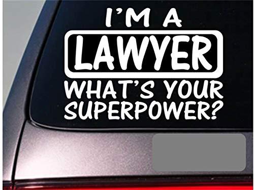 Wandtattoo Wohnzimmer Auto Aufkleber Auto Aufkleber Ich bin ein Anwalt Aufkleber Aufkleber Law School Court Trial Fenster Aufkleber 20cm