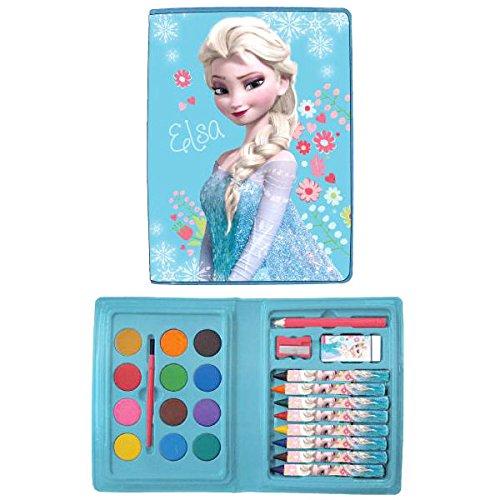 Estuche pinturas Frozen Disney 24pz