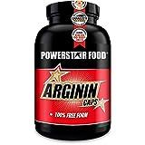 ARGININ CAPS - 200 Kapseln hochdosiert - 100% reinste L-Arginine Base in Arzneibuchqualität für maximale Nährstoffversorgung durch erhöhten Blutfluss - natürlich, pflanzlich, vegan - Made in Germany