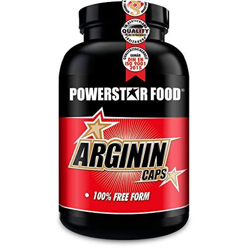 ARGININ CAPS – 200 Kapseln hochdosiert – 100% reinste L-Arginine Base in Arzneibuchqualität für maximale Nährstoffversorgung durch erhöhten Blutfluss – natürlich, pflanzlich, vegan – Made in Germany