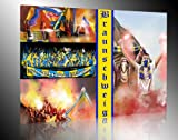 Ultras Braunschweig, Bild auf Leinwand XL , fertig gerahmt,