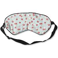 Comfortable Sleep Eyes Masks Mini Rose Pattern Sleeping Mask For Travelling, Night Noon Nap, Mediation Or Yoga preisvergleich bei billige-tabletten.eu