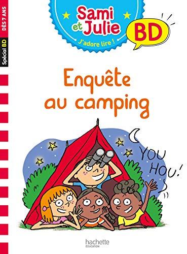 Sami et Julie BD : Enquête au camping par Thérèse Bonté