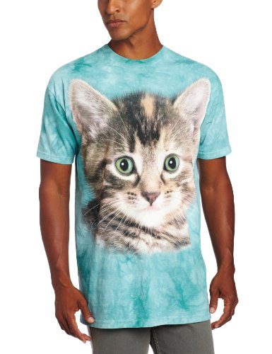 "The Mountain T-Shirt ""Striped Kitten"" Gr�n"