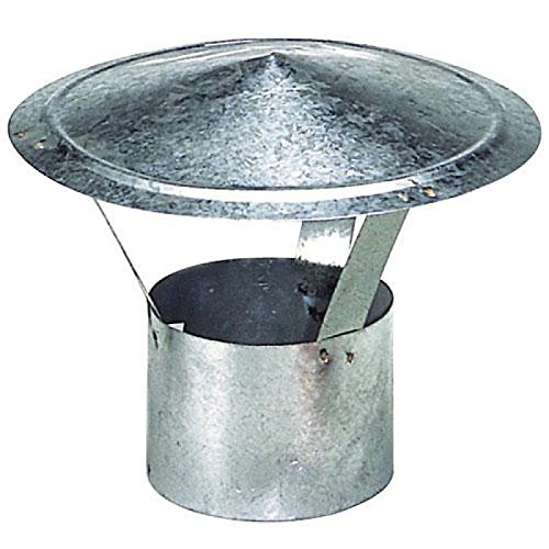 Wolfpack 22010067–Hut für Ofenrohr, verzinkt, (Hut Herd)