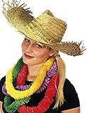 KULTFAKTOR GmbH Strohhut Hawaii Hut beige Einheitsgröße