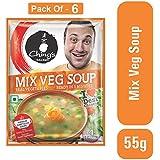 Ching's Secret Mix Veg Soup, 55g (Pack of 6)