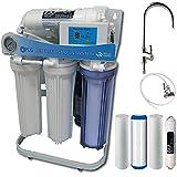 PUR Booster Système d'osmose à 5 niveaux 400 GPD Direct flow + kit de filtre de rechange
