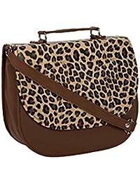 Rapidcostore Women's Tiger Print Sling Bag RC-1291