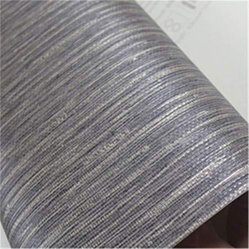 ZCHENG Realistische Faux Grasscloth Texturierte Tapete Metallic Horizontal Gras Tuch Wandverkleidung Woven Wall Paper Beige Taupe Tan Grau, F - Metallic Faux Wallpaper