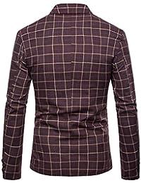 Amazon.fr   costume homme col mao - Vestes de costume   Costumes et vestes    Vêtements 74557596ae2