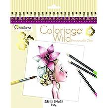 Avenue Mandarine GY065O - Carnet de Coloriage Collector