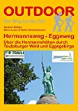 Hermannsweg - Eggeweg (OutdoorHandbuch, Band 164) - Norbert Rother