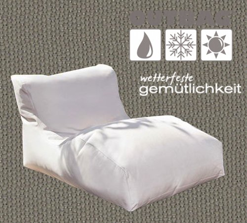 Sitzsack Outbag Wave Kollektion Plus in Schlammfarben