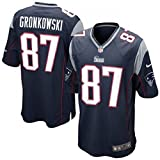 Nike New England Patriots Nfl Game Team Jrsy - Short-sleeve Top for men, Colour Navy, size S
