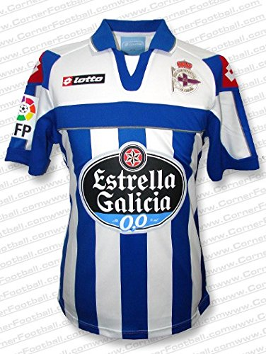 Lotto Deportivo LA Coruña 1ª Camiseta 12 13 Color Azul Royal Talla  2XL f5859892510a0