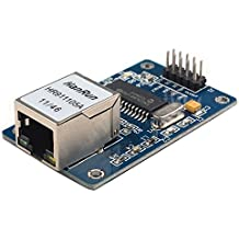 DaoRier ENC28J60 Ethernet LAN Network Modul 3.3V Mini Netzwerkmodul SPI für Arduino 51 AVR Arm Pic LPC STM32
