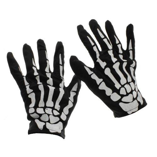 Handschuhe SKELETON HANDS black -