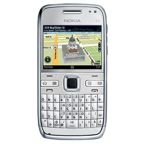 Nokia E72 Navi Smartphone (6 cm (2,3 Zoll) Display, Bluetooth, 5 Megapixel Kamera, QWERTZ-Tastatur)