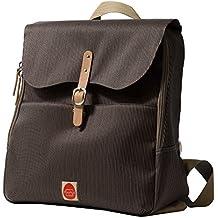 PacaPod Hastings Mocha Lite Bolso cambiador, ligero, mochila 3en 1,sistema organizador con correas, color marrón