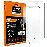 Spigen® [2 Stück] iPhone 7 / 6s / 6 Schutzfolie, Panzerglas **Easy Install Kit** [Antikratz Ultra Clear] aus hochwertigem Glas 0.33mm, 9H Härte, Anti-Öl, Anti-Bläschen, iPhone 7 Schutzglas, iPhone 7 / 6S / 6 Panzerglas (042GL20800)
