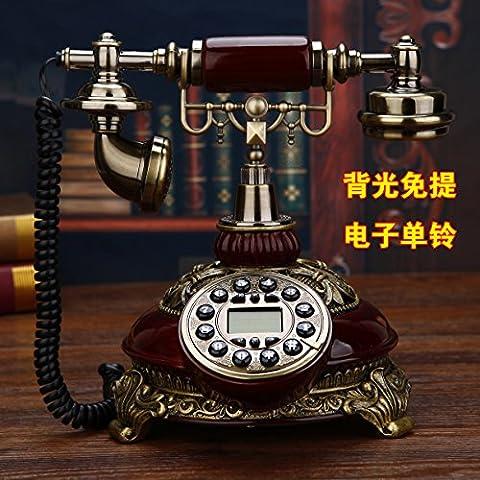 motesuvar Antik Telefon Set, europäische Telefon Set, Home Originalität Büro, antik antik Telefon