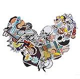 TopschnaeppchenDSH Sticker Mix ca. 30 Stück (siehe Bild, o.ä.) Rick and Morty Aufkleber/Sticker für Auto, Notebook, L