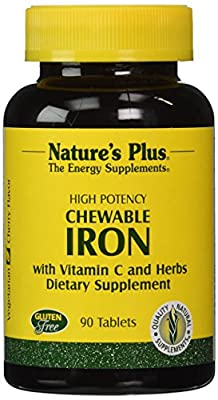 Nature'S Plus Chewable Iron W/ Vit C 90 Chewable Tablets from Nature's Plus