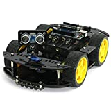 #4: Arduino based 4WD Robot Construction Kit
