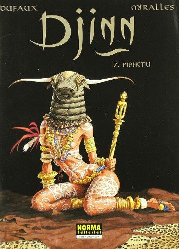 Pipiktu, Djinn 7 Cover Image