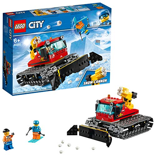 LEGO 60222 City Great Vehicles Snow Groomer Plough Set, Toy Tractor for Kids Best Price and Cheapest