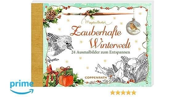 Kreativbuch Zauberhafte Winterwelt 24 Ausmalbilder Zum Entspannen