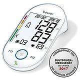 Beurer BM 55 Oberarm-Blutdruckmessgerät mit Ruheindikator, Arrhythmie-Erkennung, USB Schnittstelle