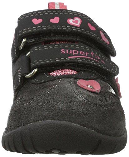 Superfit - Sport3, Scarpe basse Bambina Grau (Charcoal KOMBI)