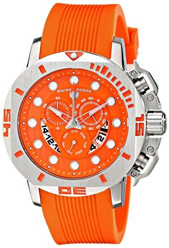 Swiss Legend 10538s-06-Armbanduhr Herren Farbe orange (Swiss Legend Uhren Für Den Mann)