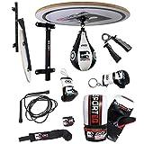 Sporteq 13PC boxe Speed Ball piattaforma set, regolabile da pugilato allenamento punzonatura supporto