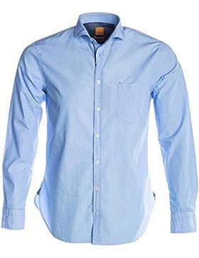BOSS Orange Cattitude Shirt in Sky Blue