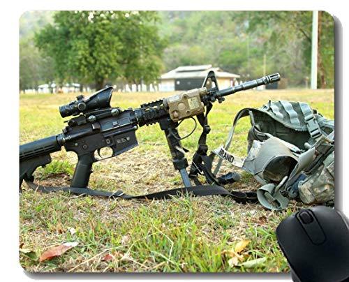 Anti-Rutsch-Mauspad-Matte, schlagendes Gewehrmunition der militärischen Rüstung Mousepad